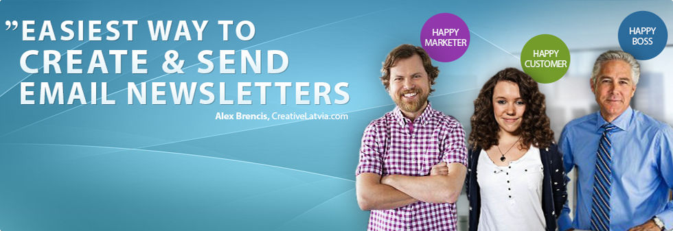 Platform for Creating and Sending Email Marketing Newsletters