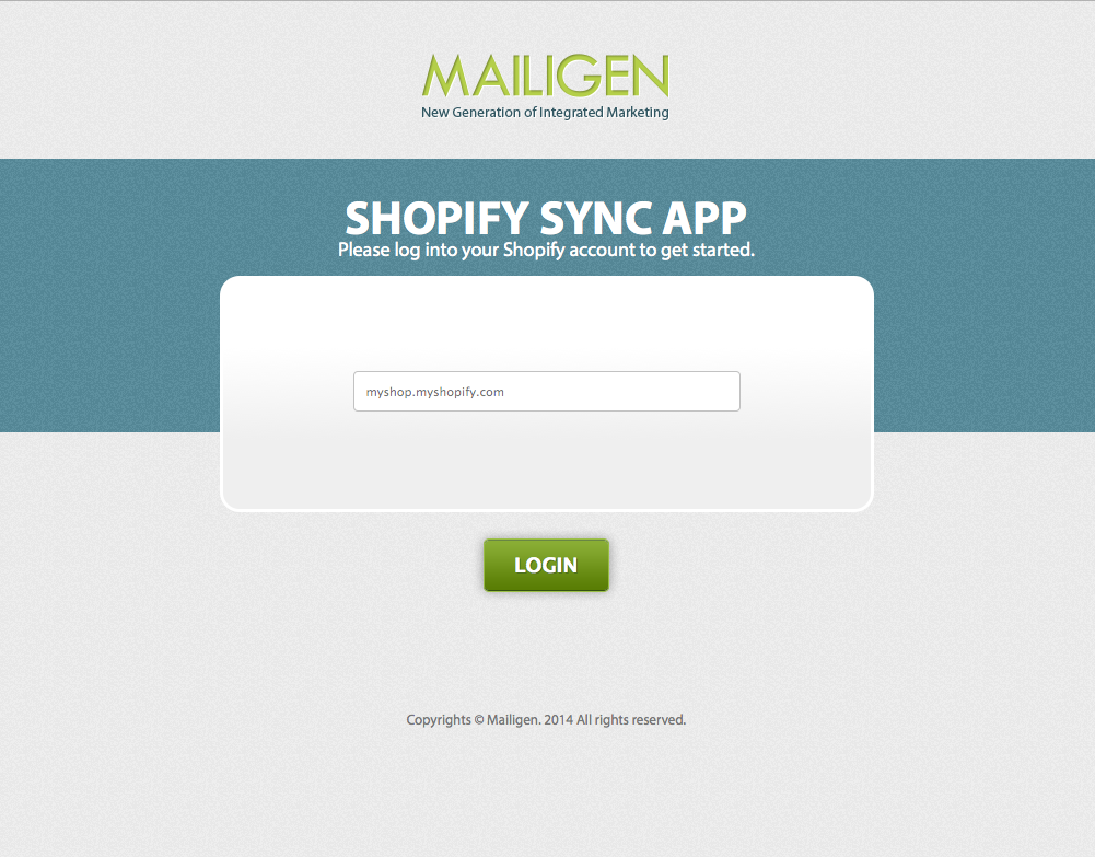 Shopify-Mailigen-integration