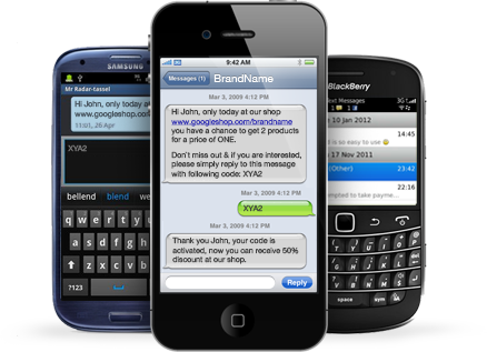 SMS list management